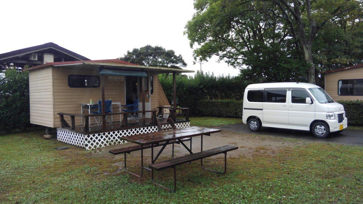雨の日 キャンプ